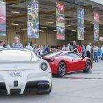 Cars at the Hangar Party