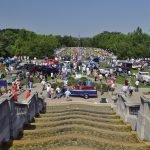 View of the Ault Park Concours d'Elegance from the Pavilion