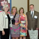 Honorees Kathy Kennedy, Debbie Motz, Beth Bowers Klaine and Tom Clore