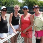 Stacy Roth, Lisa Samuelson, Ghita Sarembock and Meryl Juran