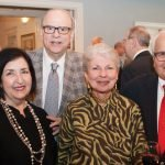 Gail and Dick Friedman with Helen and Sanford Zussman