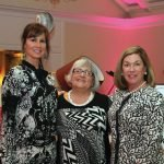 Co-chair Laura Homan, executive director Kathy Smith and founder and volunteer CEO Brynne Coletti