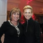 Board members Barbara Gehrig and Dawn Schiff