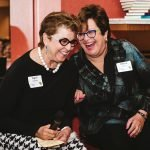 April Davidow and Gloria Lipson