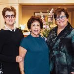 April Davidow, Ronnie Shore and Gloria Lipson