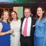 "Milly Huffman, Sneja Tomassian, Opera president-elect Gary ""Doc"" Huffman, and Ronna Willis"