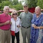 Joe and Mary Brinkmeyer, Cincinnati Zoo director Thane Maynard and Cora Ogle
