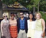 Opera co-chair Cathy Crain, Sheryl Black, Bryan Black, Sydni Black, Kathi McQuade