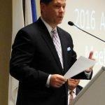 WCPO anchor Chris Riva, emcee
