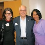 Sally Aiken, United Way; Steve Drefahl, retired Red Cross COO; and Yvonne Washington, United Way executive vice president and COO