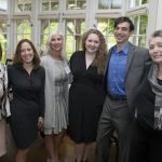 Sian Cotton, Amy Murray, Anne Ilyinsky, opera singer Murrella Parton, accompanist John Combs, Barbara Gould