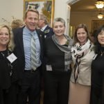 Nina Paul, Ohio Secretary of State Jon Husted, Barbara Gould, Sian Cotton, Wendy Yip