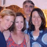 Michelle Moran and Elizabeth Smith, with Jim and Maria Papakirk