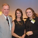 Bill Hitch, Chris Owens and Lauren Hall