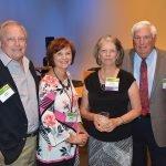 Jerry Rebel, Sharyn Rebel, Helene Sedwick and Bill Sedwick