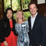 Joyce Yang, Ann Stewart and Daniel Meyer, a candidate for music director