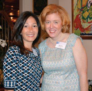 Committee members Erica Camp and Meg Cone