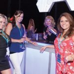 Celebrity mixologist Molly Wellmann with guests of the Greater Cincinnati Foundation