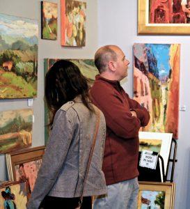 Donna Talerico's studio (Photo by Ariel Lusco)