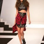 Party in Plaid runway design