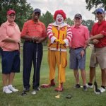 The PNC foursome: Matt Ulliman, Ernie Green, Phil Wehrman and Chris Belletti