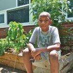 Fifth-grader Jamarion Hill