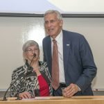 Carol Aquino and Rob Reifsnyder, United Way of Greater Cincinnati president and CEO
