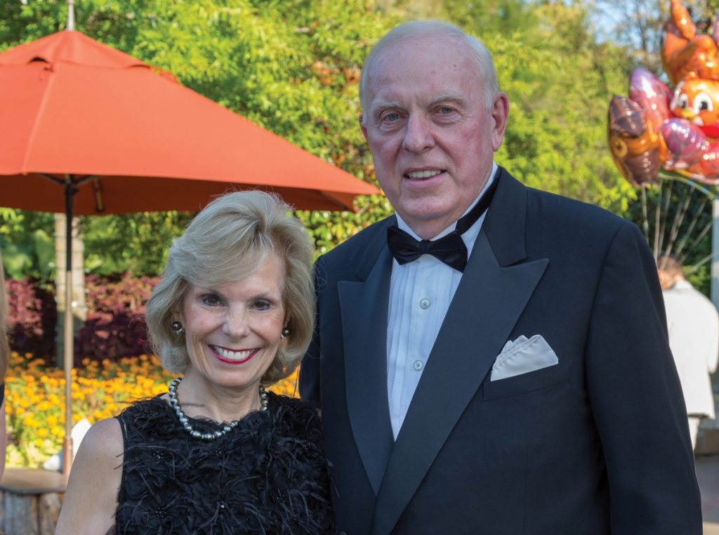 Zoofari chairs Maribeth and Marty Rahe