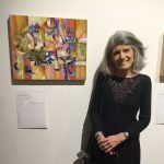 Maureen Bloomfield, editor, The Artist's Magazine, with a piece by Cedric Michael Cox