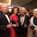 Bruce Smith, Sheila Williams, Harry and Ann Santen