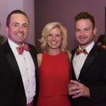 Committee member Pete Brown, Abby Schwoeppe, Adam Schwoeppe