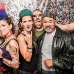 Amy McFarland, Kristin Schmidt Van Scoy, Greg Van Scoy, Rick Dews. Photo by Framester