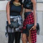 Asha Ama Daniels and Kara Wade