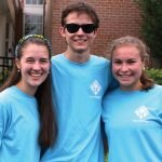 Co-Chairs McKenna Johnson, Brian Johnson and Ellie Kapcar