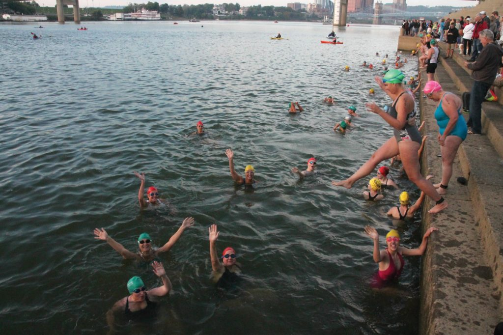 Ohio River swim