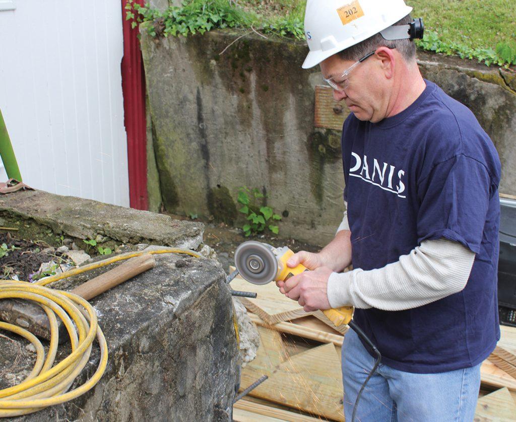 John Westrup of Danis Construction