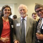 Angela Lloyd, executive director of the Ohio Legal Assistance Foundation; John Pinney; and Ohio state Sen. Bill Seitz