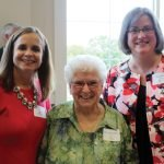 Katy Meinhardt, honoree Sister Kathryn Ann Connelly and Jennifer Anstaett