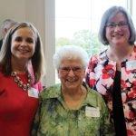 Katy Meinhardt, honoree Sister Kathryn Ann Connelly and Jennifer Anstaett
