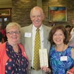 Diane Kleinfelter, Jim Scott and Mary Beth Puryear