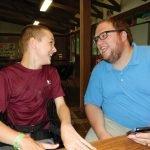 Mason Murphy and Andy Clark