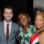 Drew Klein, CAC performance curator; City Council member Yvette Simpson, Regina Carswell Russo