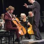 Sonic Odyssey: Eckart Preu conducting and guest artist Joshua Roman Photo by Phil Groshong