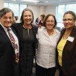 Dr. Phil Lichtenstein, Marilyn Crumpton of the Cincinnati Health Department, Barb Lichetenstein and Joyce Tate of the Cincinnati Health Department