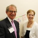 Jim Schwab of Interact for Health with Barb Terry, chief operating officer of The Children's Home
