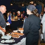 Guests could choose among 19 chef stations.