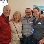 John and Dawson Bullock, Dan and Jayna Schimberg