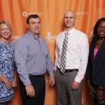 Linda Robinson, Michael McCormick, Kris Karwisch and Dwinelva Zachary of St. Elizabeth Healthcare