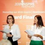 Sara Bolton, Tiffany Mattingly of The Health Collaborative and Neil Tillow