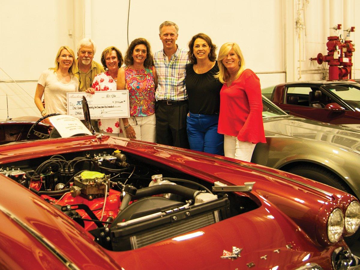 Car Show Raises For JDRF Movers Makers Magazine Cincinnati - Car show in cincinnati this weekend